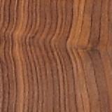 Solid Walnut bark edge